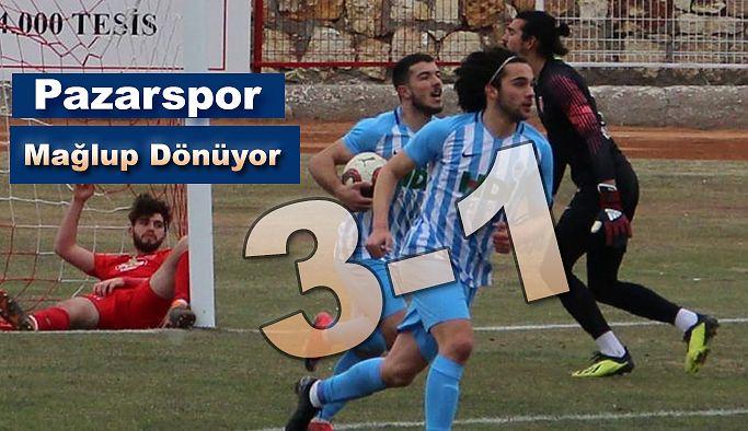 Pazarspor Mağlup Oldu 3-1