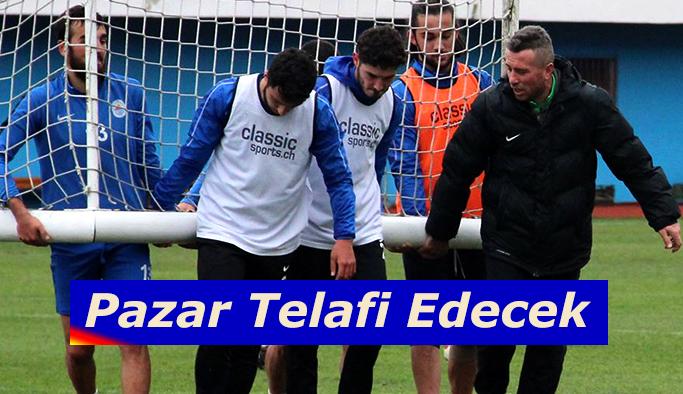 Pazarspor telafi için Nevşehir'e gidiyor.