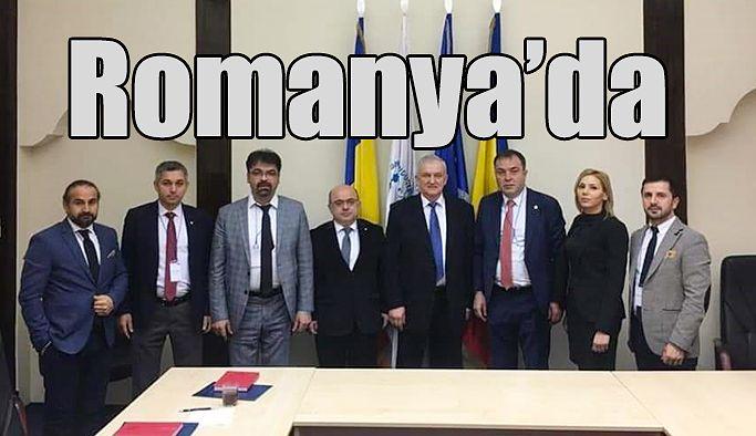 TSO, PROJE KAPSAMINDA ROMANYA'YI ZİYARET ETTİ