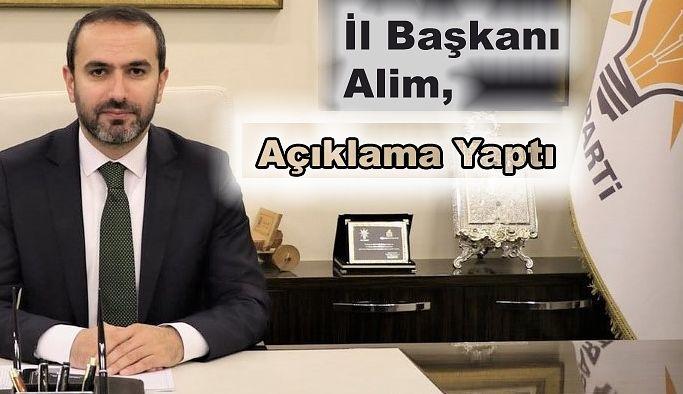 Ak Parti Rize İl Başkanı İshak ALİM;RİZE'YE SON 17 YILDA 428.00 MİLYON TL. EĞİTİM YATIRIMI YAPTIK