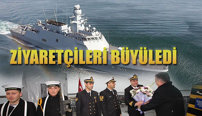 DONANMANIN 'HAYALET GEMİSİ HOPAPORT'TA ZİYARETÇİLERİ BÜYÜLEDİ
