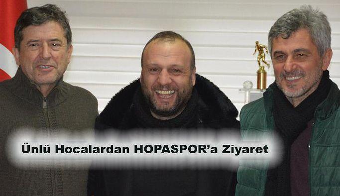 HOPASPORU ZİYARET ETTİLER.