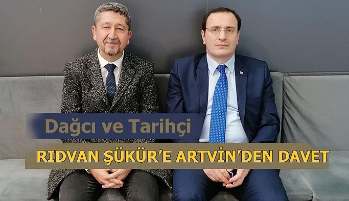 Rıdvan Şükür, Artvin'e Davet Edildi.