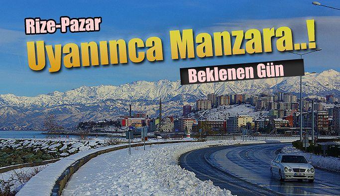 Rize'de kar için beklenen gün