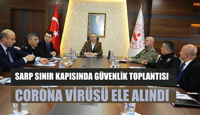 SARP SINIR KAPISI KOORDİNASYON KURULU TOPLANDI