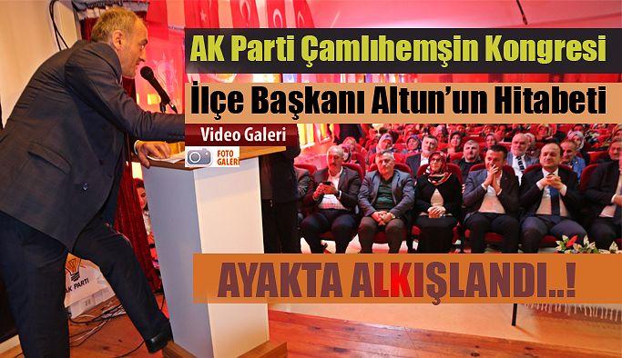 AK Parti'de Çamlıhemşin kongresi yapıldı