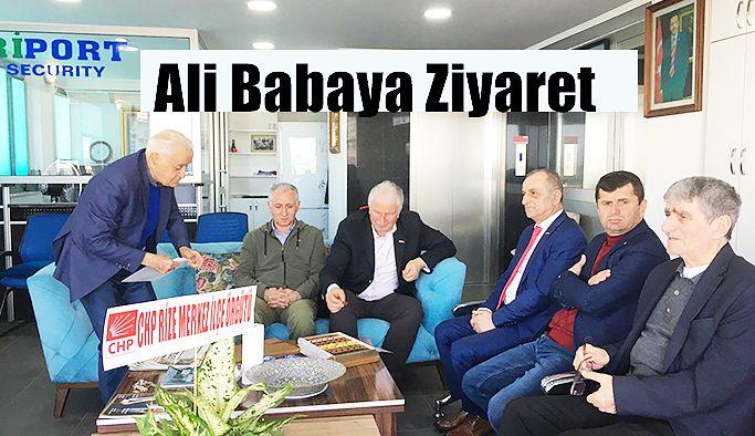 CHP Merkez İlçe' den Ali Baba' ya Ziyaret