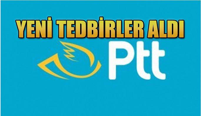 PTT AŞ KORONAVİRÜSE KARŞI TÜM TEDBİRLERİ ALIYOR