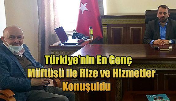 Türkiye'nin En Genç Müftüsü Rize'de