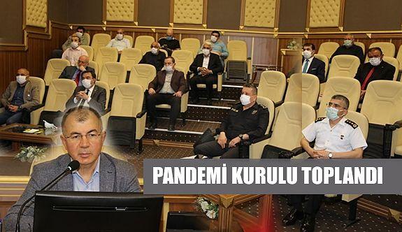 PANDEMİ VE İL HIFZISIHHA KURULU TOPLANDI