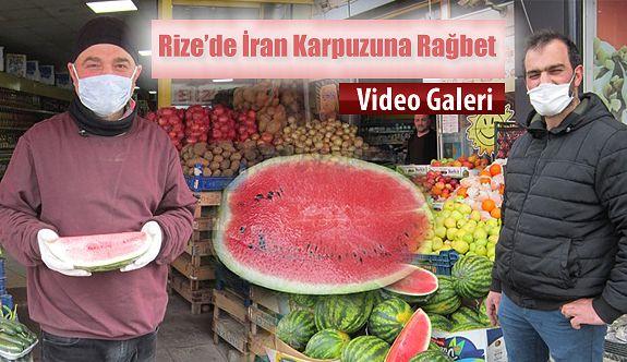 Piyasaya İlk İran Karpuzu Girdi