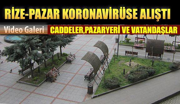 Rize KOVİT-19 a alıştı: Vatandaş Koronavirüs Hakkında Konuşuyor: