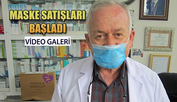 Rize'de: Eczanelerde maske satışı başladı