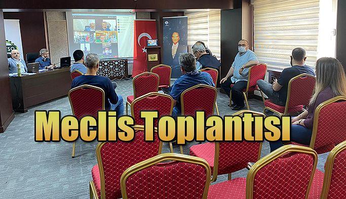 TİCARET VE SANAYİ ODASI MAYIS AYI MECLİS TOPLANTISI YAPTI