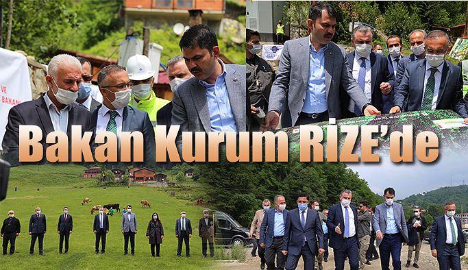 Bakan Kurum: Ayder ve Hemşin'de