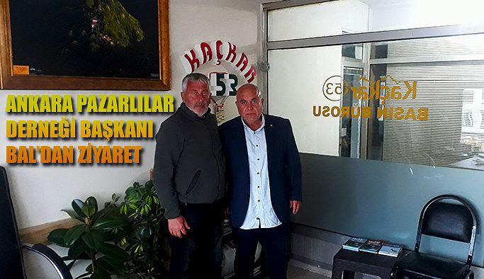 BASIN BÜROSUNA 'HAYIRLI OLSUN' ZİYARETİ