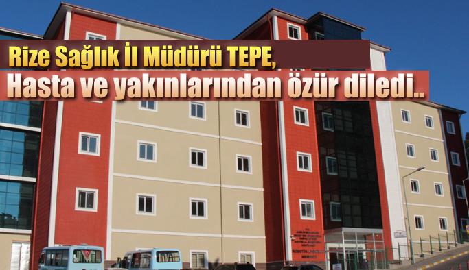 İl Müdürü Tepe,Hastalığa dikkat çekerek önemli açıklamalarda bulundu