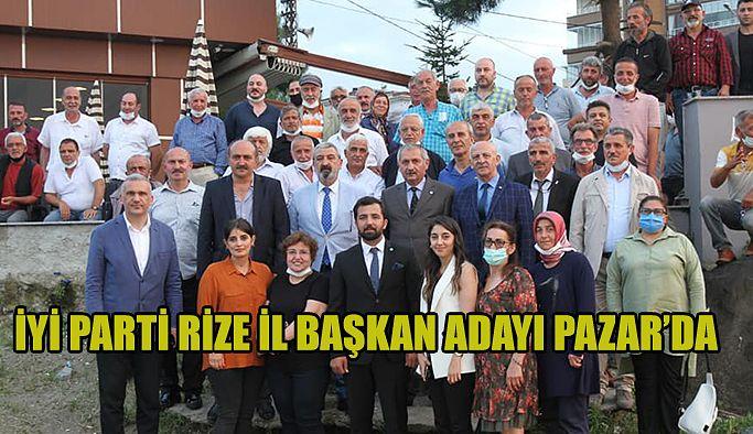 Kürşat Hacısüleymanoğlu Pazar'da