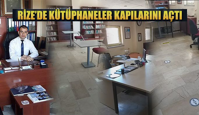 Kütüphaneler Açıldı