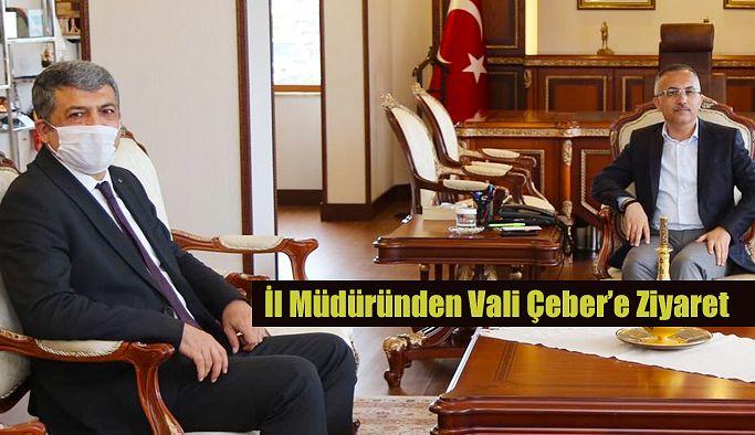 Rize Gençlik ve Spor İl Müdürü, Vali Çeber'i Ziyaret Etti