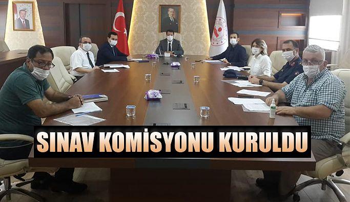 SINAV KOORDİNASYON KURULU TOPLANDI