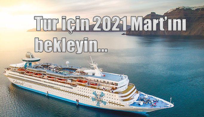 CRUİSE TURLARI 2021 MARTINA KALDI