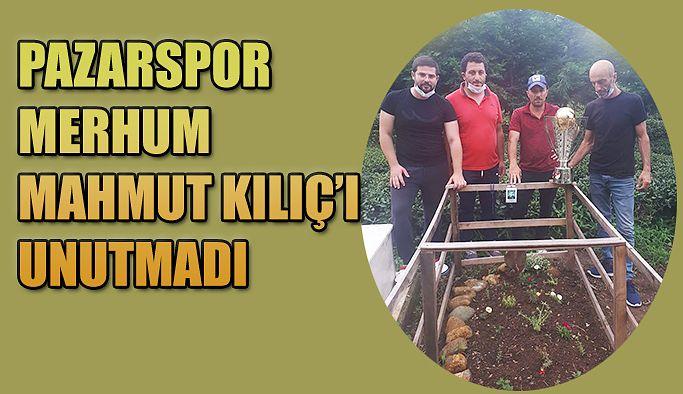 Şampiyonluk Kupası Merhum Mahmut Kılıç'a gitti.