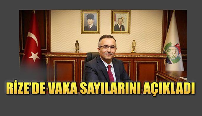 Vali Çeber, düzenlediği basın toplantısında Rize'deki son duruma dair bilgiler verdi.