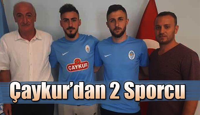 Çay kur Rizespor'dan 2 Kiralık Sporcu
