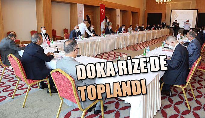 DOKA 131. Yönetim Kurulu Toplantısı Rize'de Gerçekleştirildi