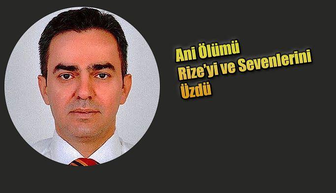Rize'de Prof.Dr.Turan Erdoğan'ın ölümü sevenlerini üzdü