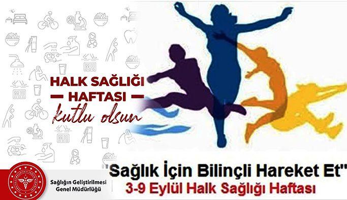 3-9 Eyllül Halk Sağlığı Haftası