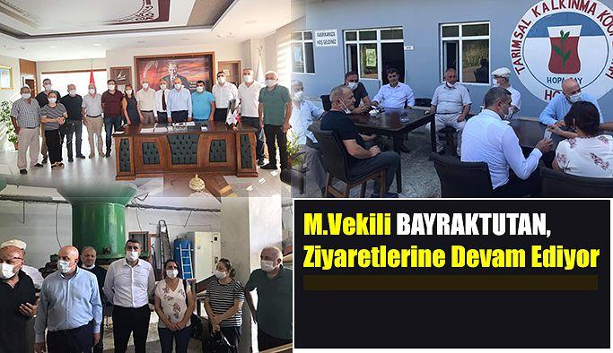 BAYRAKTUTAN SAHİL'E İNDİ.