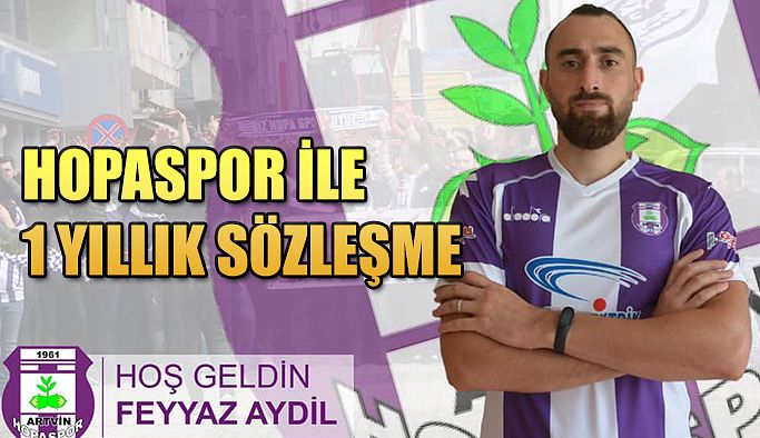 Feyyaz Aydil: HOPASPOR'da