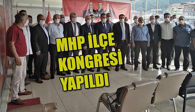 MHP İLÇE KONGRELERİ DEVAM EDİYOR.