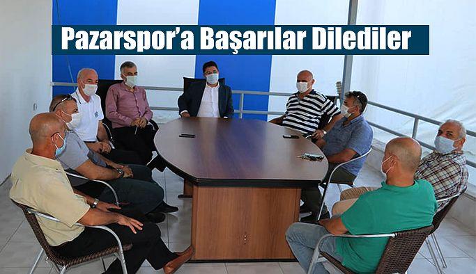 Pazarspor'a Başarılar Dilediler