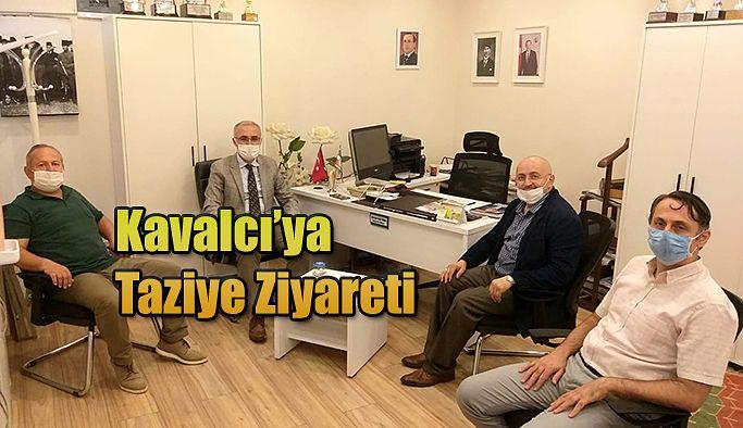 REKTÖR PROF.DR. KARAMAN'DAN KAVALCI'YA TAZİYE ZİYARETİ