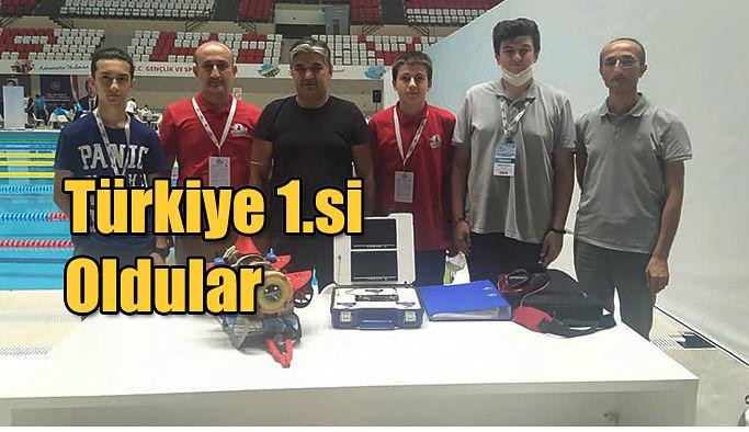 Türkiye 1.si oldular
