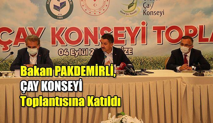 Ulusal Çay Konseyi Toplantısı Gerçekleştirildi