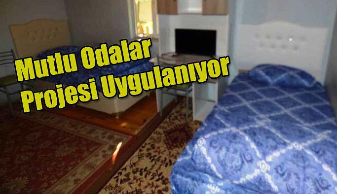 """KÜÇÜK DOKUNUŞLARLA, MUTLU ODALAR"""" PROJESİ"""
