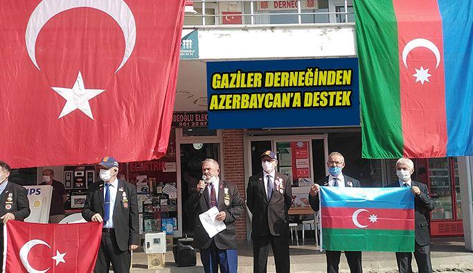 MUHARİP GAZİLER DERNEĞİNDEN AZERBAYCAN'A DESTEK