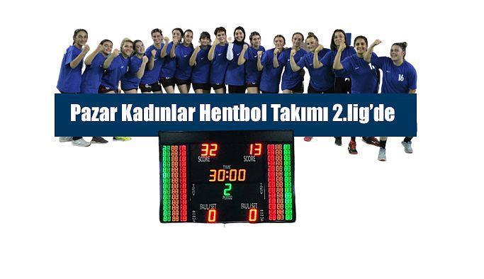 Olimpik Pazar Spor Kulübü Kadın Hentbol Takımı, 2. Lige yükseldi