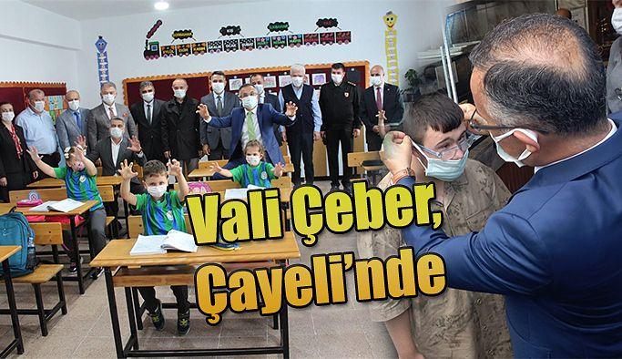 Vali Kemal Çeber: Çayeli İlçesini Ziyaret Ederek İncelemelerde Bulundu