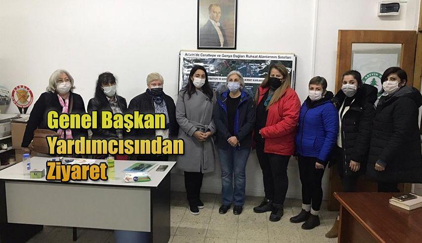 GENEL BAŞKAN YARDIMCISI ARTVİN'DE