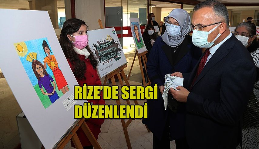 Mevlana Haftası Kapsamında Resim ve Grafiti Sergisi Düzenlendi