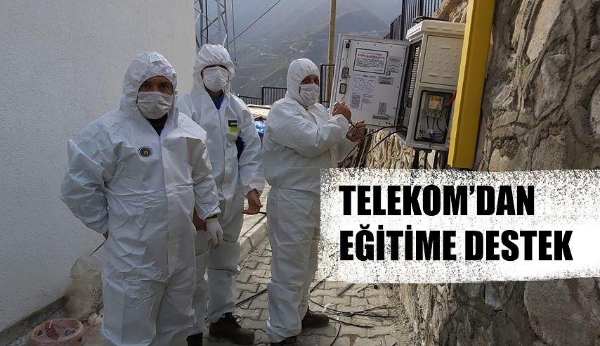 TELEKOM'DAN EĞİTİME DESTEK