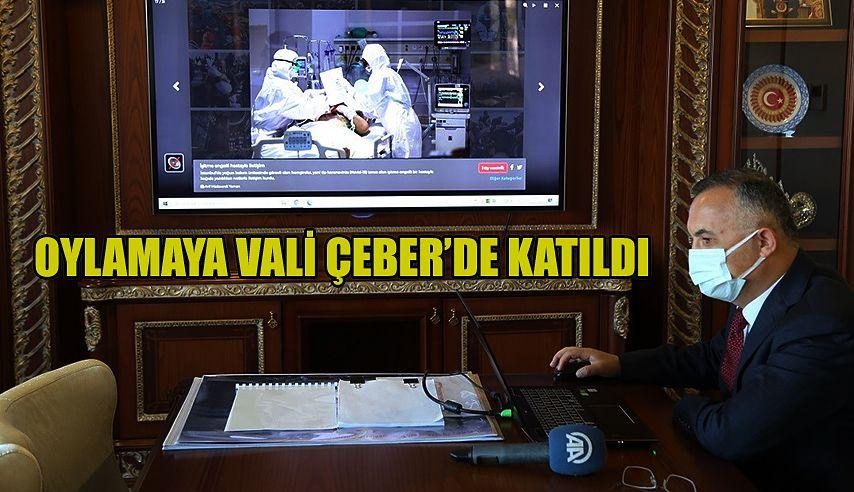 """Vali Kemal Çeber, Anadolu Ajansı'nın """"Yılın Fotoğrafları"""" Oylamasına Katıldı"""