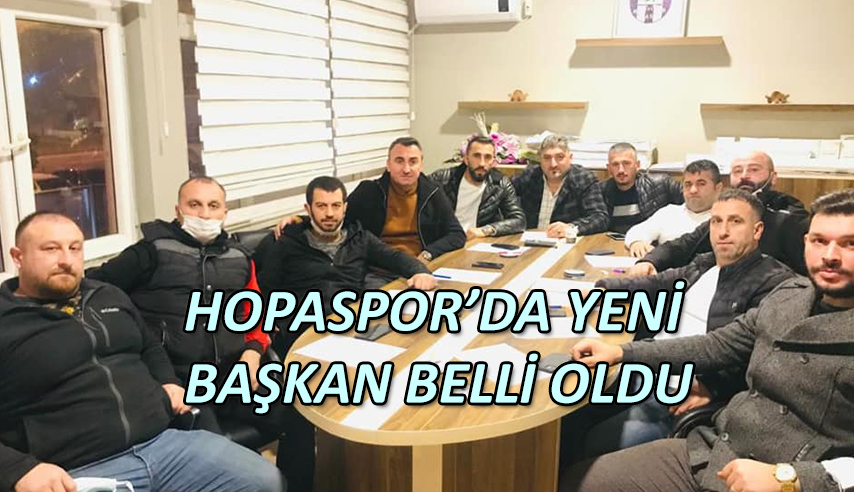 ARTVİN HOPASPOR GÖKSEL CİHAN'A TESLİM