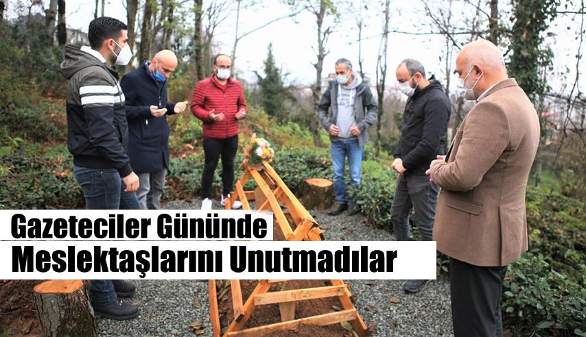 ÇALIŞAN GAZETECİLER GÜNÜN'DE AHMET ÖZCAN'I UNUTMADI