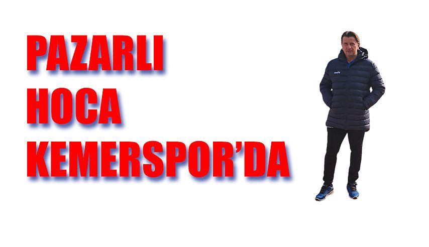 Pazarlı Hoca Antalya Kemerspor ile anlaştı